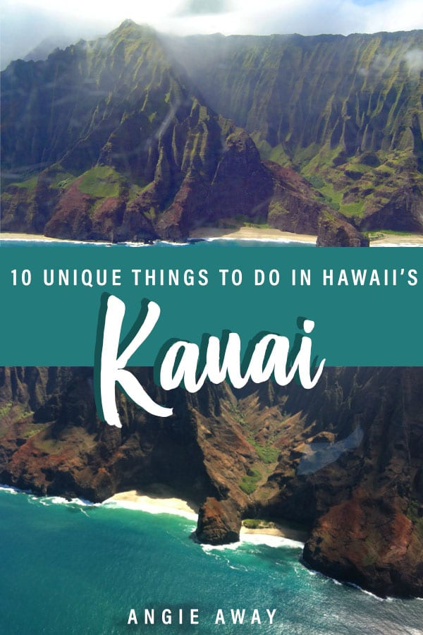 Here are all the unique things to do in Kauai from helicopter rides to hiking and more! #kauai #thingstodoinkauai #hawaii