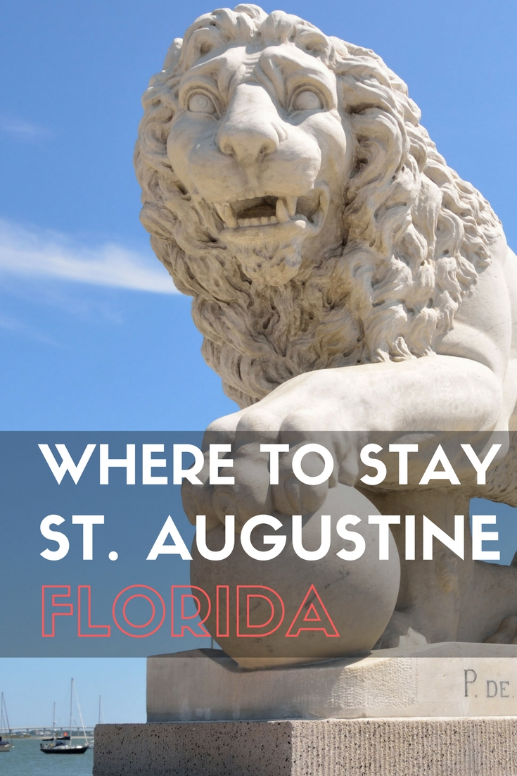 Where to Stay in St. Augustine