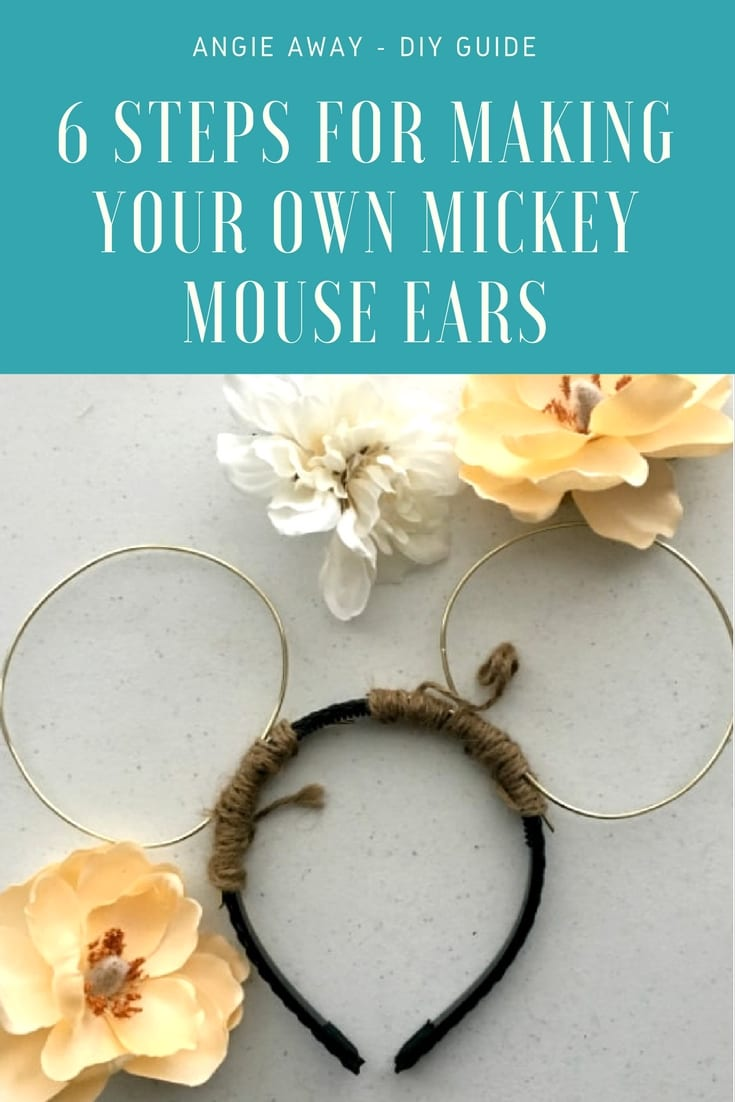 How to make DIY Mickey mouse ears
