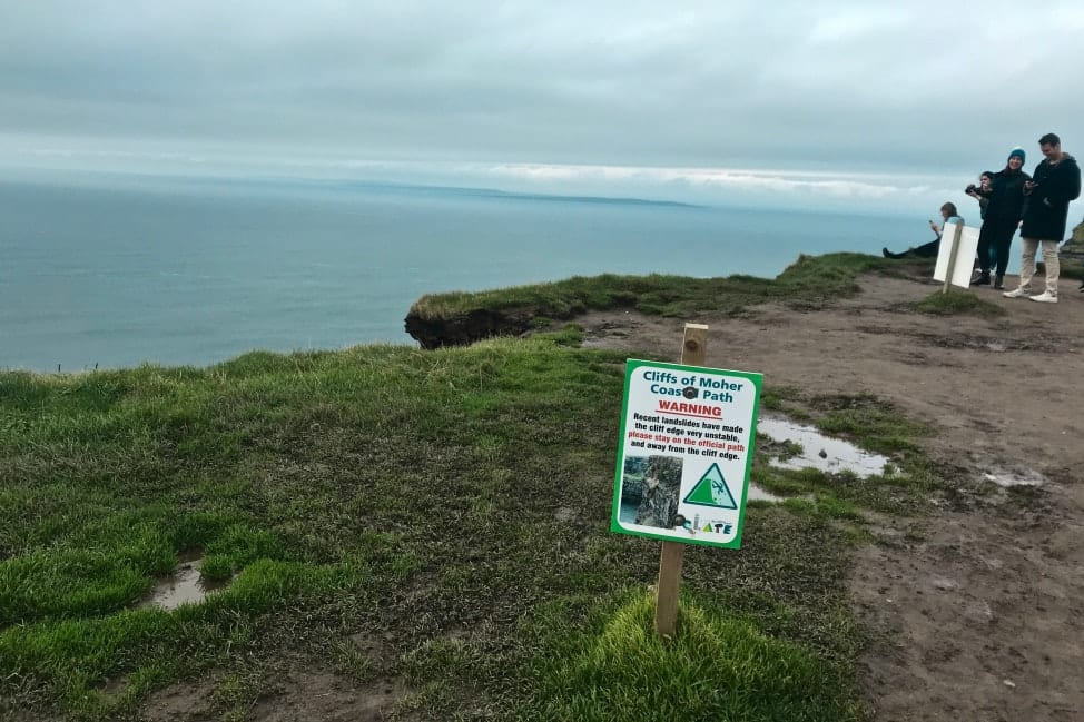 Cliffs of Moher road trip in Ireland