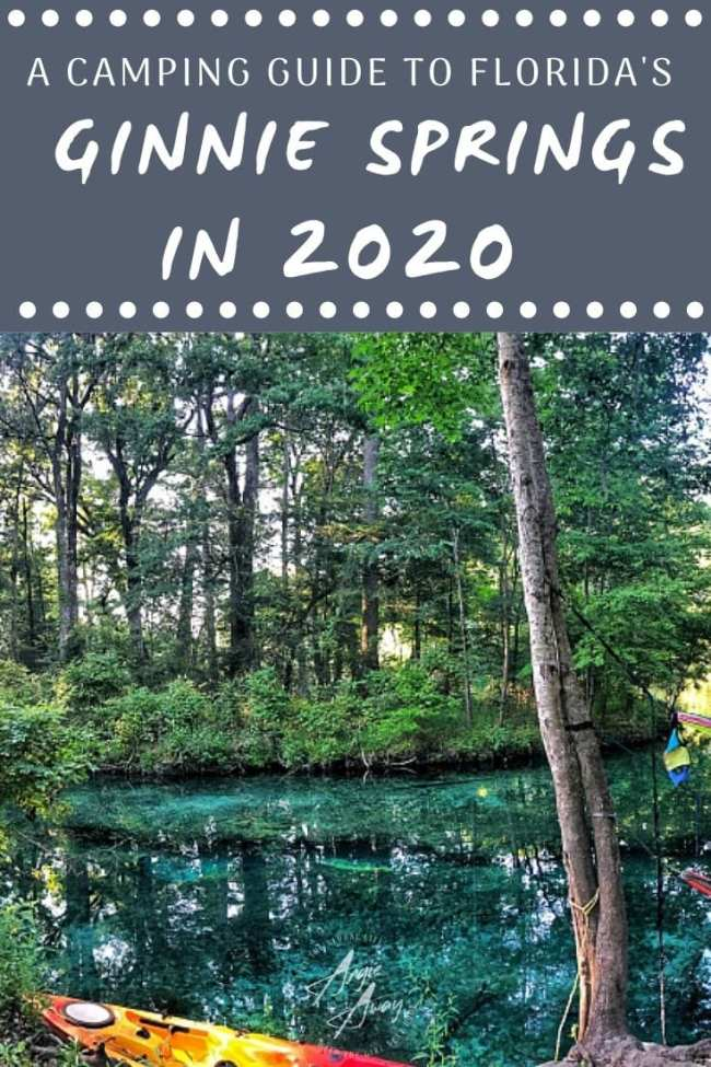 Ready to spend the summer tubing in Florida? Check out these camping hacks for a fun weekend in the water at Ginnie Springs.