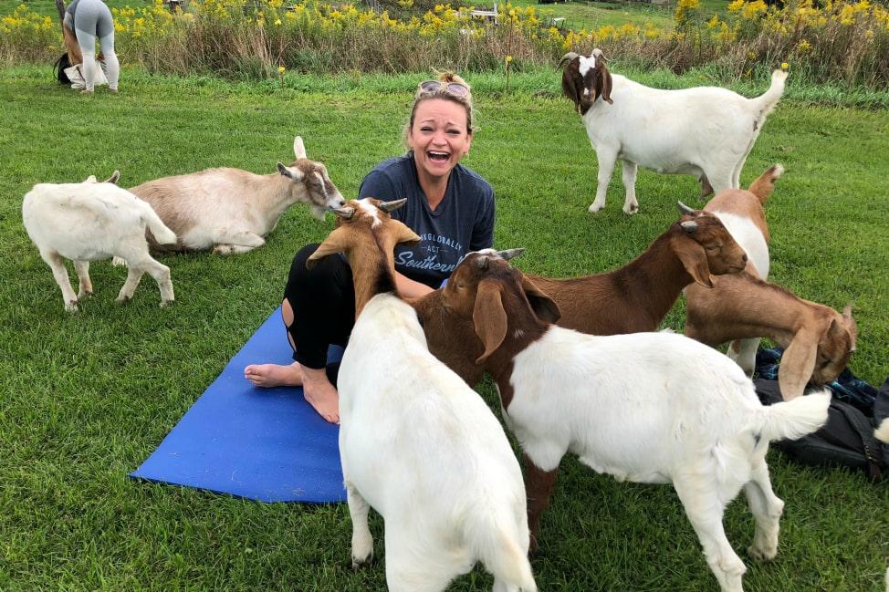 Goat Yoga - Finger Lakes-min