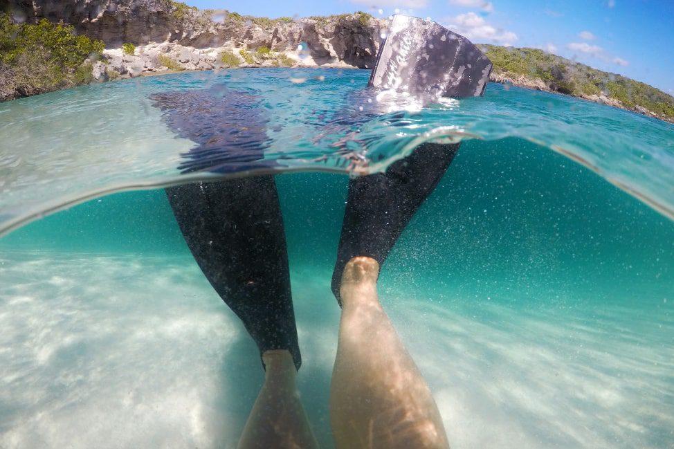 Long Island Bahamas Deans Blue Hole