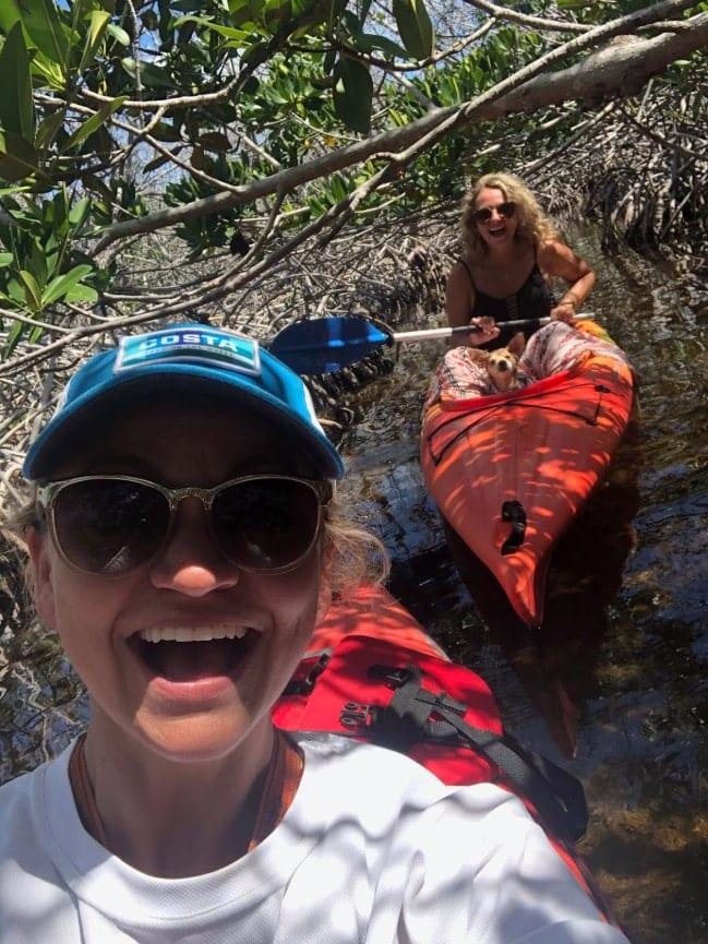Backcountry kayaking in Big Pine Key