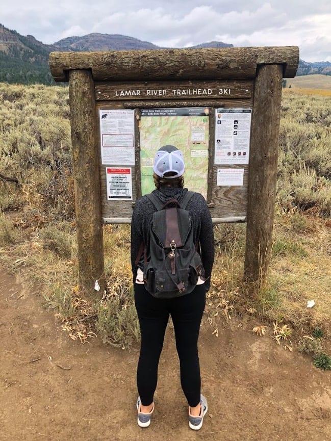 Montana Road Trip - Yellowstone Lamar Valley
