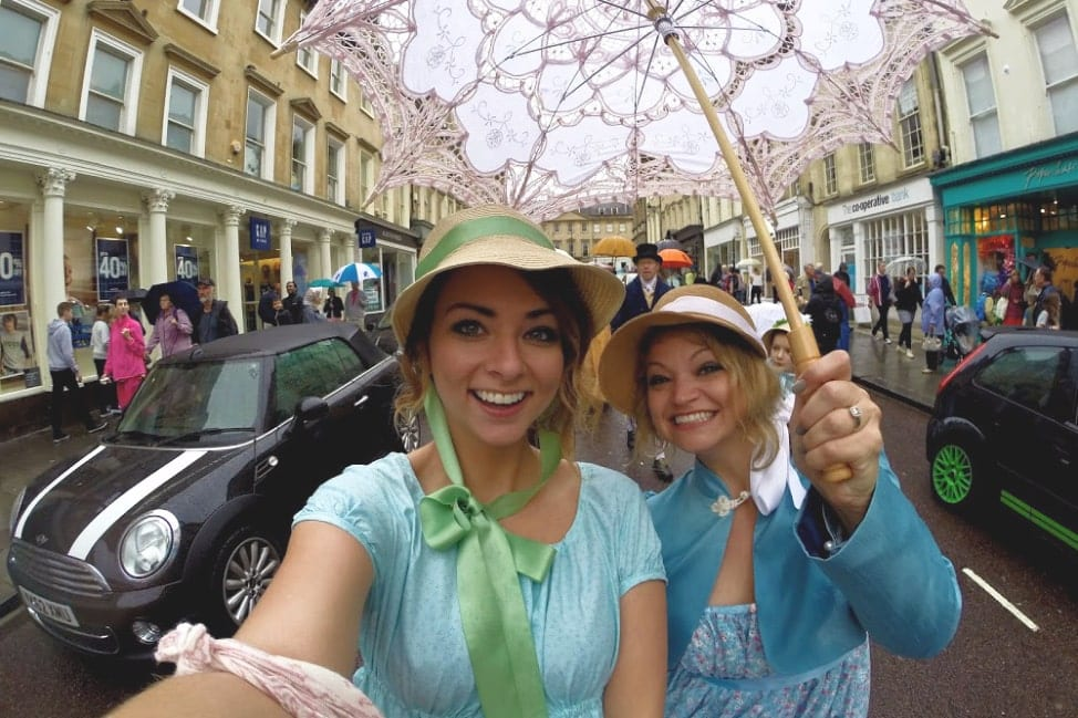 Jane Austen Jet Sisters Group Trip