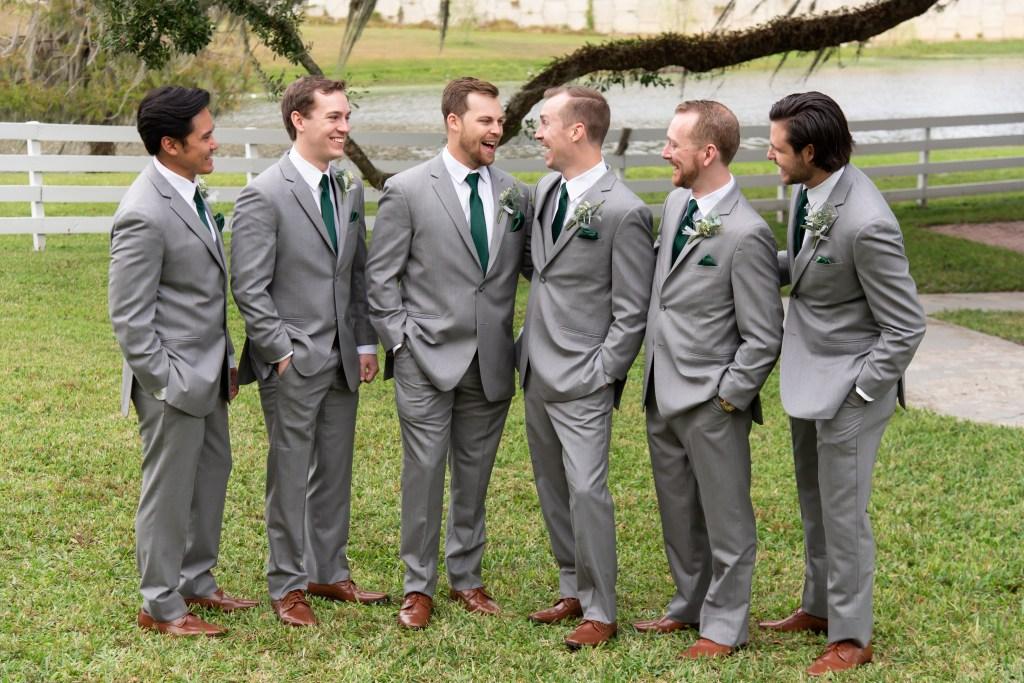 Groomsmen outfit ideas Florida wedding