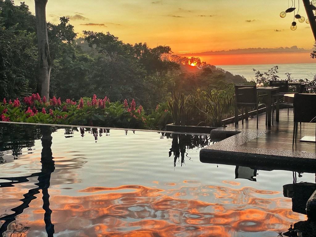 Costa Rica Sunset Manuel Antonio