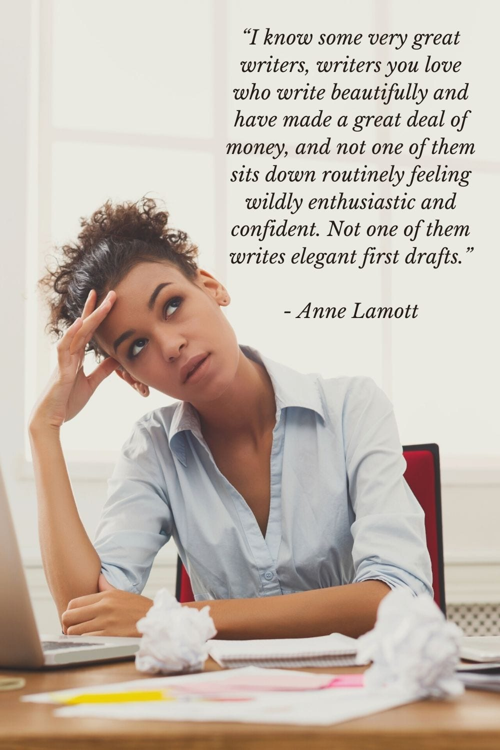 Anne Lamott quotes on writing