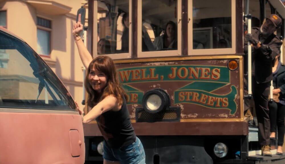 Sophia de GirlBoss sur Netflix