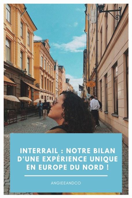 Epingle Pinterest pour mon article bilan avec Interrail