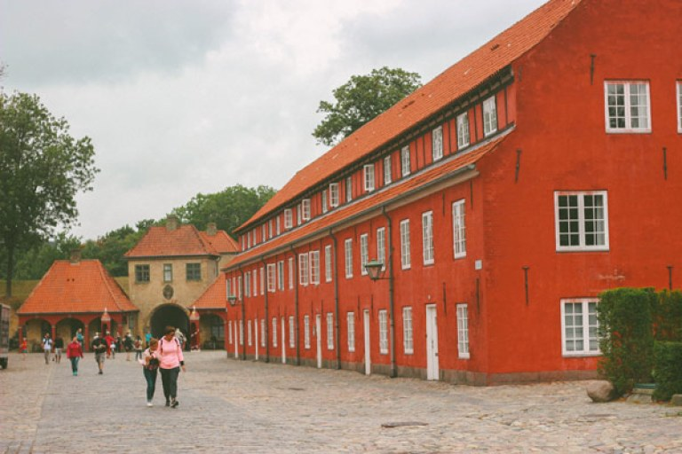 Ancienne réserve militaire à Copenhague