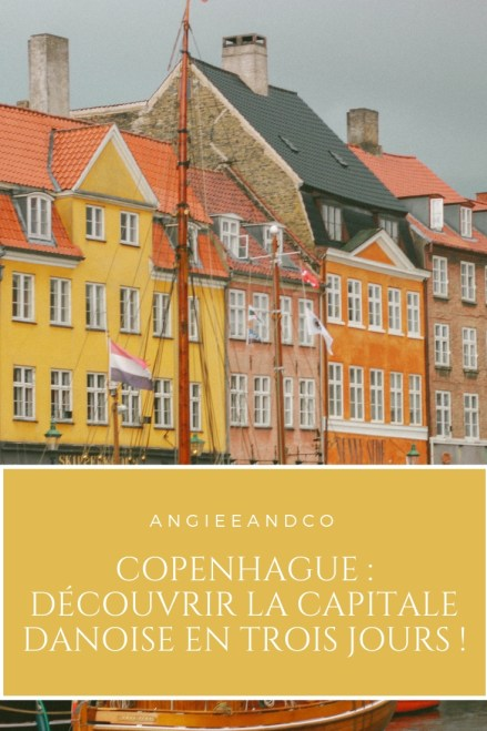 Epingle pinterest pour mon article sur Copenhague