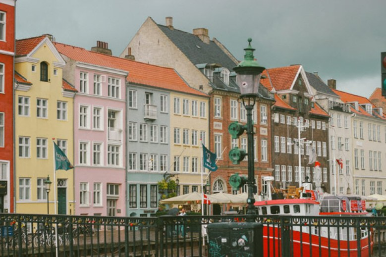 Maisons colorées de Nyhavn