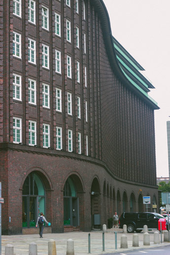 Kontorhaus à Hambourg