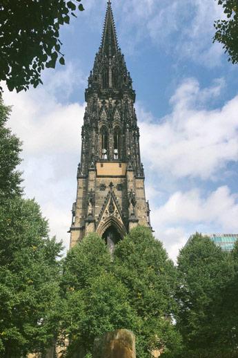 Eglise Saint Nicholas à Hambourg
