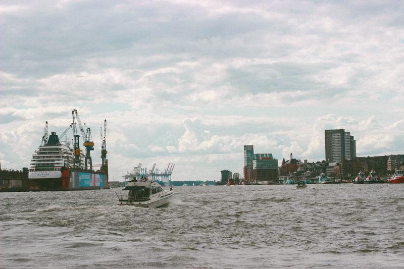 L'Elbe à Hambourg