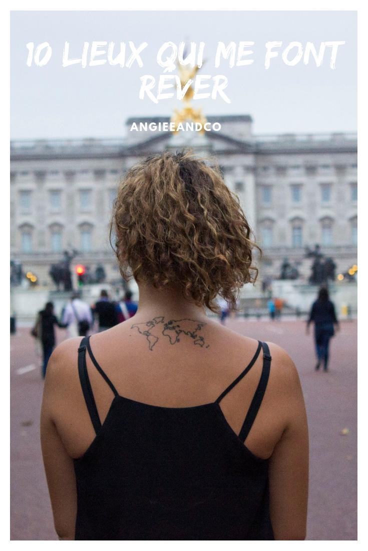 Epingle Pinterest pour mon article sur les dix lieux qui me font rêver