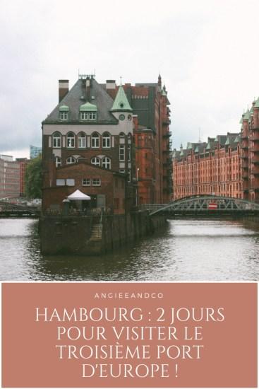 Epingle Pinterest pour mon article sur Hambourg