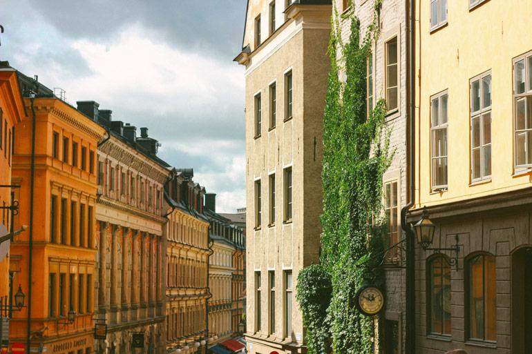 Galan stan, la vieille ville