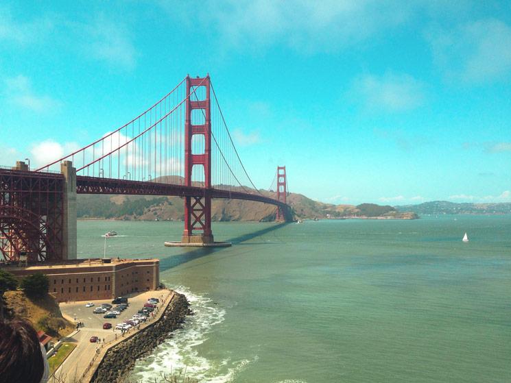 Le Golden Gate Bridge à San Francisco