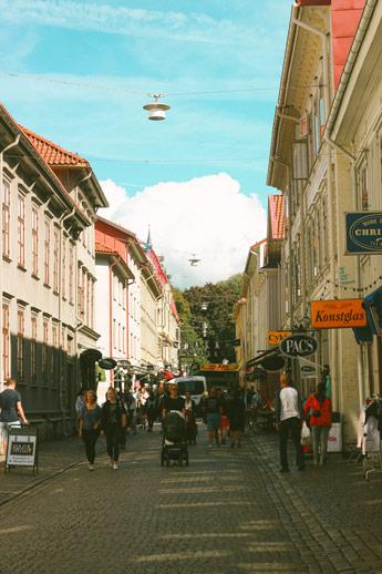 Les rues d'Haga