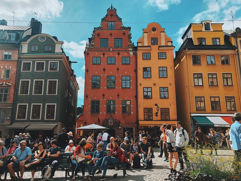 La Place Stortoget, un des lieux incontournable de Stockholm