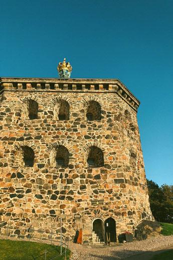 Le Skansen Kronan AB, point de vue au dessus de Göteborg