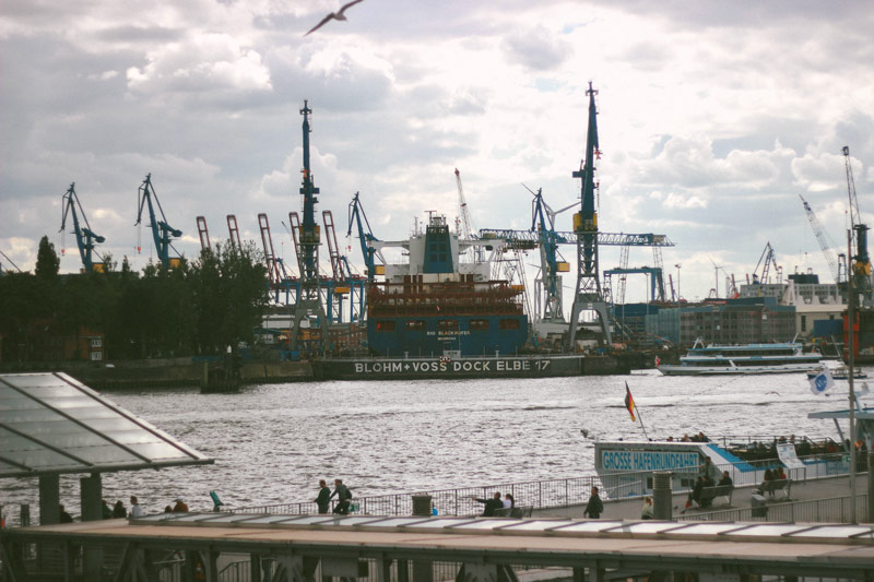 Le port d'Hambourg