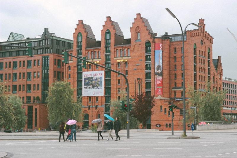 Les quartiers d'Hambourg