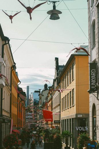 Les rues de Norrmalm