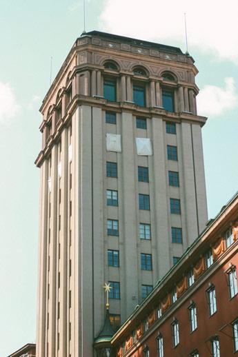 Les plus hautes tours de Stockholm