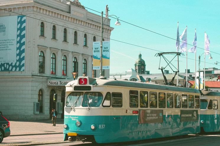 Le tramway suédois