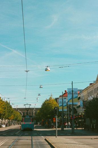 Le tramway Göteborg