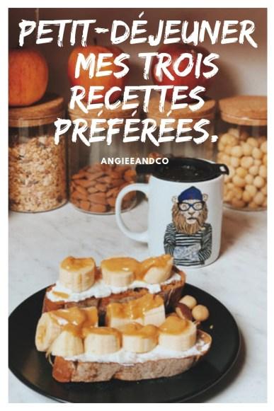 Epingle Pinterest pour mon article sur mes petits-déjeuners préférés