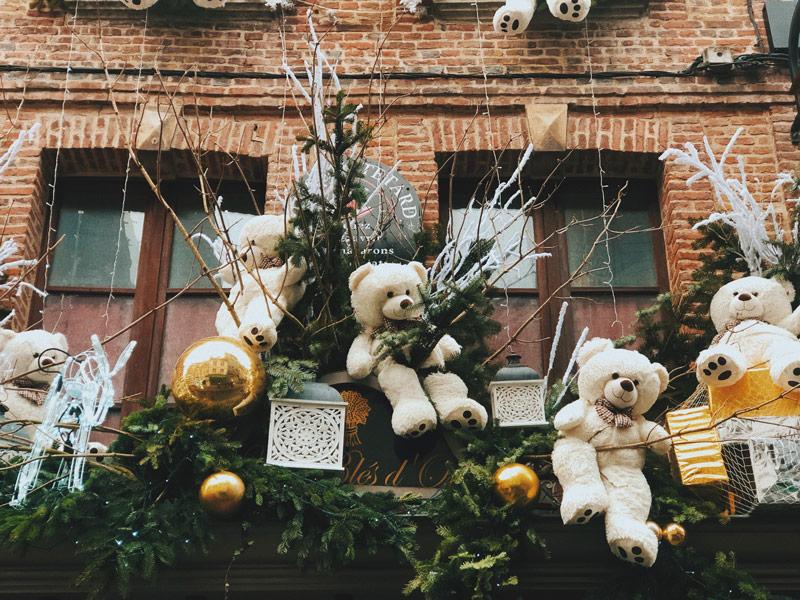 Décoration de Noël à Honfleur