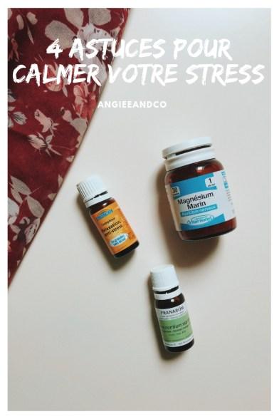 Epingle Pinterest pour mon article sur 4 solutions anti-stress