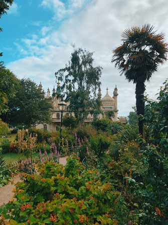 Jardin du Royal Pavillon de Brighton