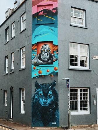 Le street art sur des résidences