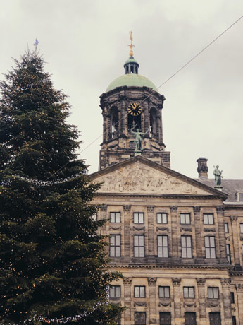 Le Palais Royal à Amsterdam