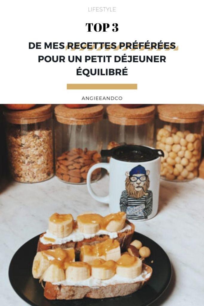 Découvrez 3 recettes pour un petit déjeuner équilibré!