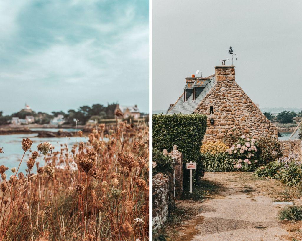 L'île de Bréhat dans les Côtes d'Armor