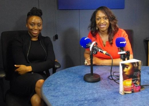 Angie Greaves and Chimamanda Ngozi Adiche