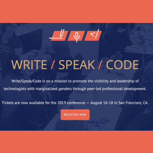 Write/Speak/Code
