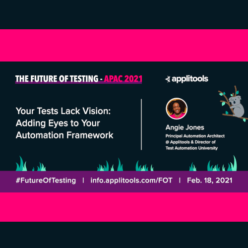 Future of Testing (APAC)