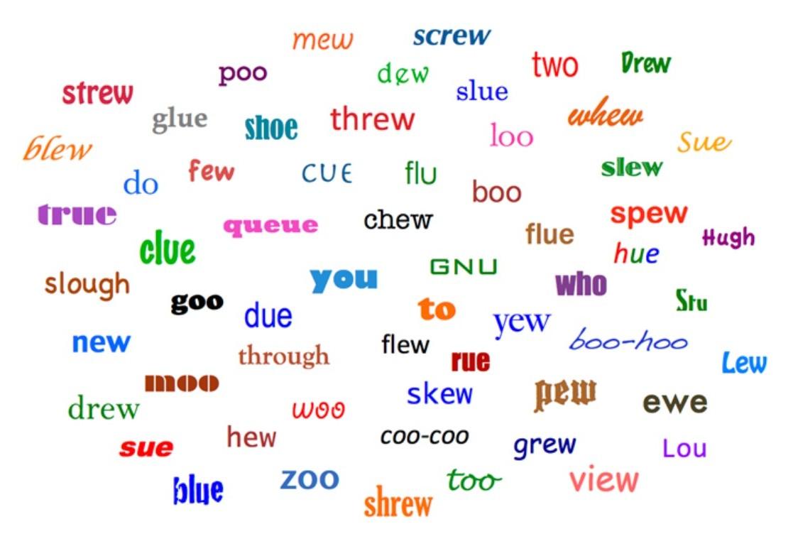 Rhymes Words Examples