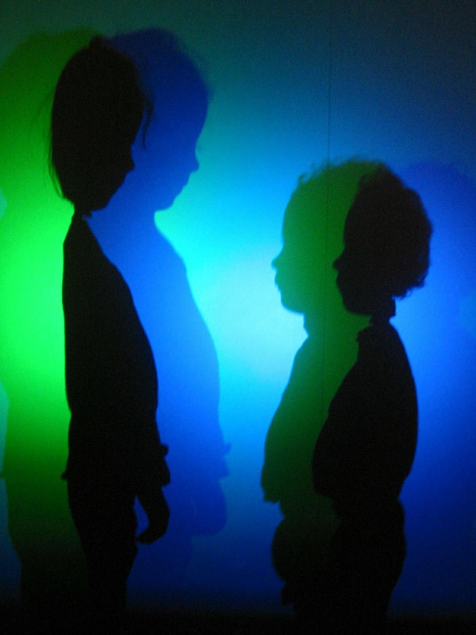 Halloween ideas - Shadow theatre - teatrzyk cieni