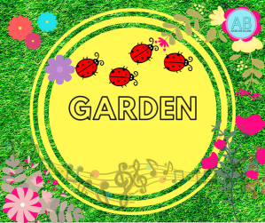 Garden. Songs, stories and cartoon