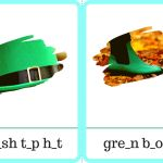 St. Patrick's Day: Flashcard Games