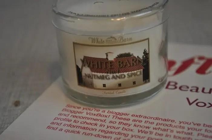 Bath & Body Works Fall Mini Candle